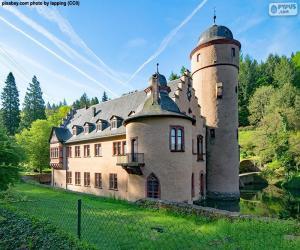 Puzzle de Castillo Mespelbrunn, Alemania