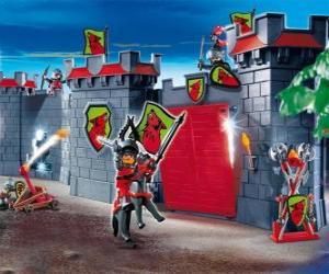 Puzzle de Castillo Playmobil