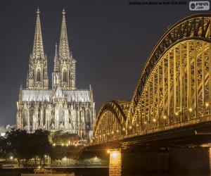 Puzzle de Catedral de Colonia, Alemania