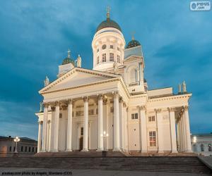 Puzzle de Catedral de Helsinki, Finlandia
