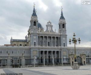 Puzzle de Catedral de la Almudena, Madrid