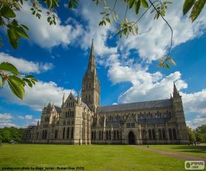 Puzzle de Catedral de Salisbury, ENG