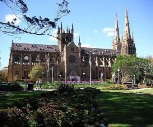 Puzzle de Catedral de Santa María de Sídney, Australia