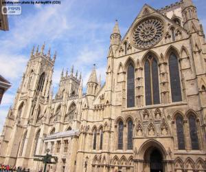 Puzzle de Catedral de York, Inglaterra