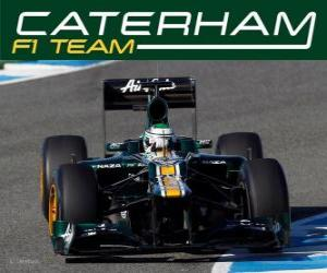 Puzzle de Caterham CT01 - 2012 -