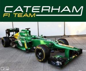 Puzzle de Caterham CT03 - 2013 -