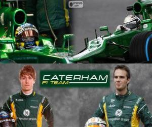 Puzzle de Caterham F1 Team 2013