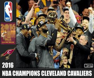 Puzzle de Cavaliers, campeón NBA 2016