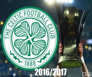 Puzzle de Celtic FC campeón 2016-2017