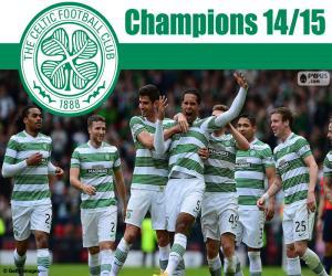 Puzzle de Celtic FC campeón 2014-2015