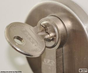 Puzzle de Cerradura para puerta