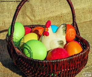 Puzzle de Cesta de Pascua