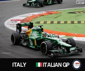 Puzzle de Charles Pic - Caterham - Monza, 2013