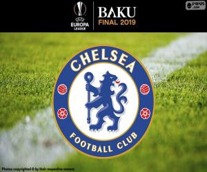 Puzzle de Chelsea,campeón Liga Europa 2019