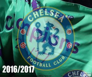 Puzzle de Chelsea FC campeón 2016-2017