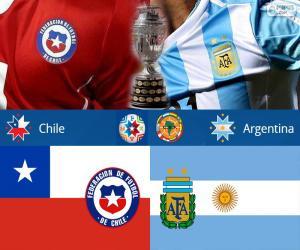 Puzzle de CHI-ARG final CopaAmérica15