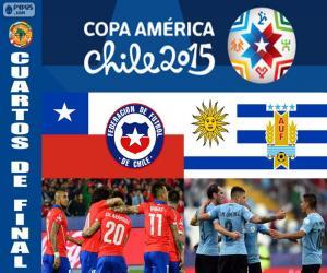 Puzzle de CHI - URU, Copa América 15
