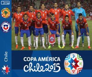 Puzzle de Chile Copa América 2015