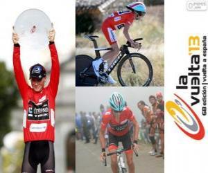 Puzzle de Chris Horner campeón, de la Vuelta a España 2013