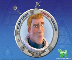 Puzzle de Chuck de niño soñaba con ser astronauta, es valiente, apuesto y seguro de si mismo