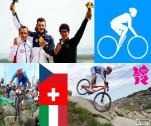 Puzzle de Ciclismo montaña masc.LDN12