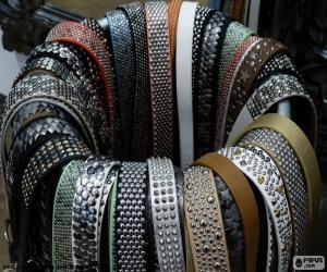 Puzzle de Cinturones de cuero