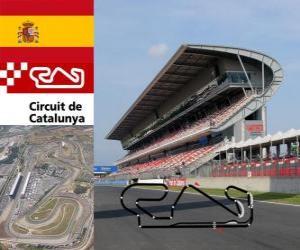 Puzzle de Circuito de Cataluña - España -