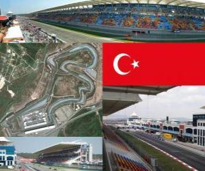Puzzle de Circuito de Estambul - Turquía -
