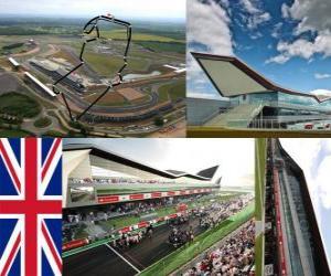 Puzzle de Circuito de Silverstone - Inglaterra -