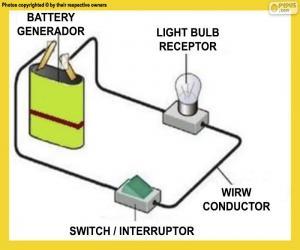 Puzzle de Circuito eléctrico simple