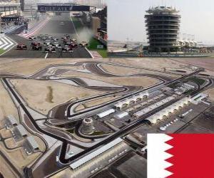 Puzzle de Circuito Internacional de Bahrain