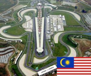 Puzzle de Circuito Internacional de Sepang - Malasia -