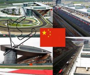 Puzzle de Circuito Internacional de Shanghái - China -