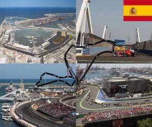 Puzzle de Circuito Urbano Valencia - España -