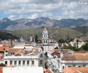 Puzzle de Ciudad histórica de Sucre, Bolivia