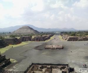 Puzzle de Ciudad prehispánica de Teotihuacán
