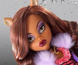 Puzzle de Clawdeen Wolf de Monster High