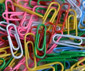 Puzzle de Clips de colores