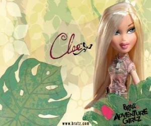 Puzzle de Cloe: - Angel - es la rubia con ojos azules. Su segundo nombre es Fanny, es la sinceridad, a veces brutal, pero perdonable.