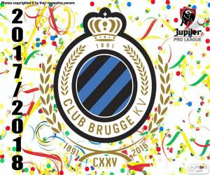 Puzzle de Club Brujas KV, Pro League 2018