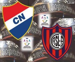 Puzzle de Club Nacional de Paraguay vs San Lorenzo de Almagro de Argentina. Final Copa Libertadores 2014