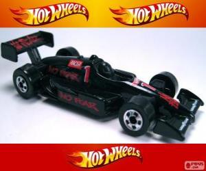 Puzzle de Coche de carreras Hot Wheels