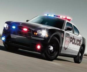 Puzzle de Coche de policía