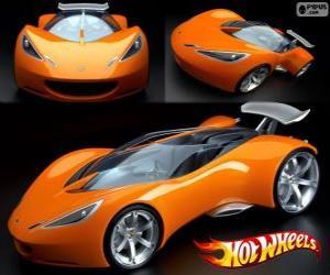 Puzzle de Coche deportivo Hot Wheels