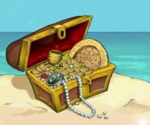 Puzzle de Cofre del tesoro