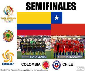 Puzzle de COL-CHI, Copa América 2016
