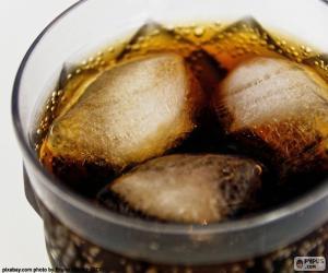 Puzzle de Cola con hielo