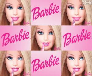 Puzzle de Collage de Barbie