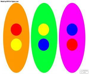 Puzzle de Colores secundarios