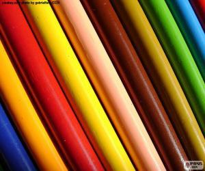 Puzzle de Colores variados
